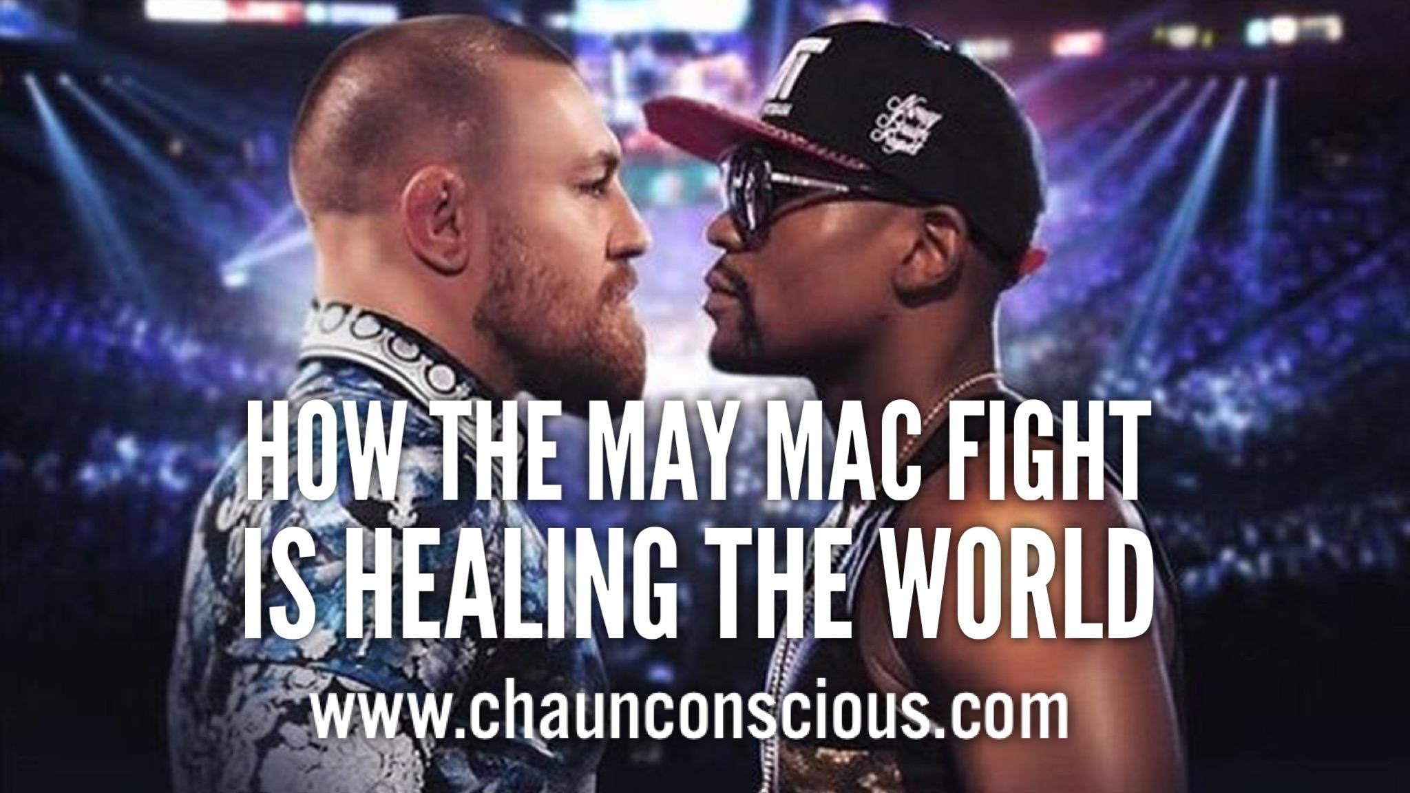 Mayweather McGregor racism